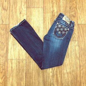 Miss me jeans size 27 with a 32 inch inseam
